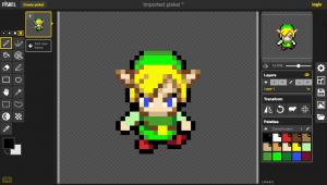 Piskel Link Sprite