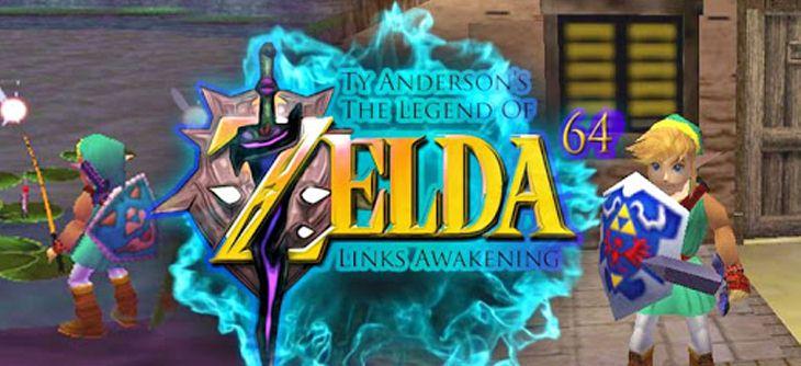 Zelda Link's Awakening 64