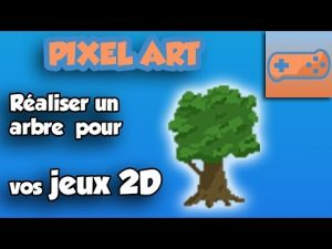 Dessiner un arbre en pixel art