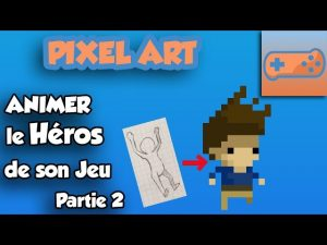 Pixel Art Animer le héros de son Jeu Partie 2 Jump Cycle