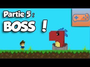 Créer son jeu de plateforme avec Game Maker Studio 2 : Boss fin de niveau