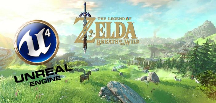 BOTW_Unreal Engine 4
