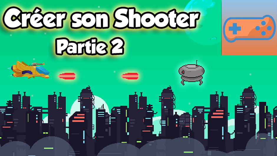Créer son shooter avec Game Maker Studio 2 Part 2