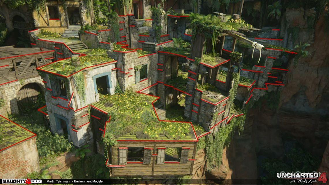 Environment Art dans Uncharted 4